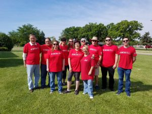 Lambs Farm fundraiser group photo