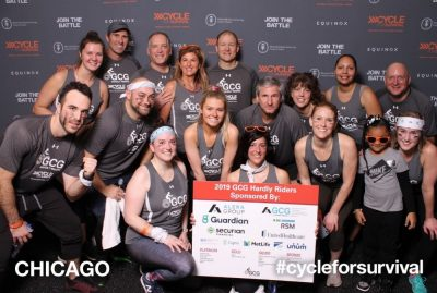 GCG Cycle for Survival group photo