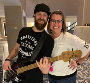 Fundraiser guitar picture