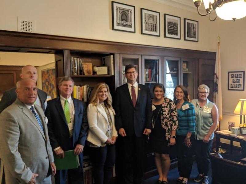 Group photo with Brad Schneider
