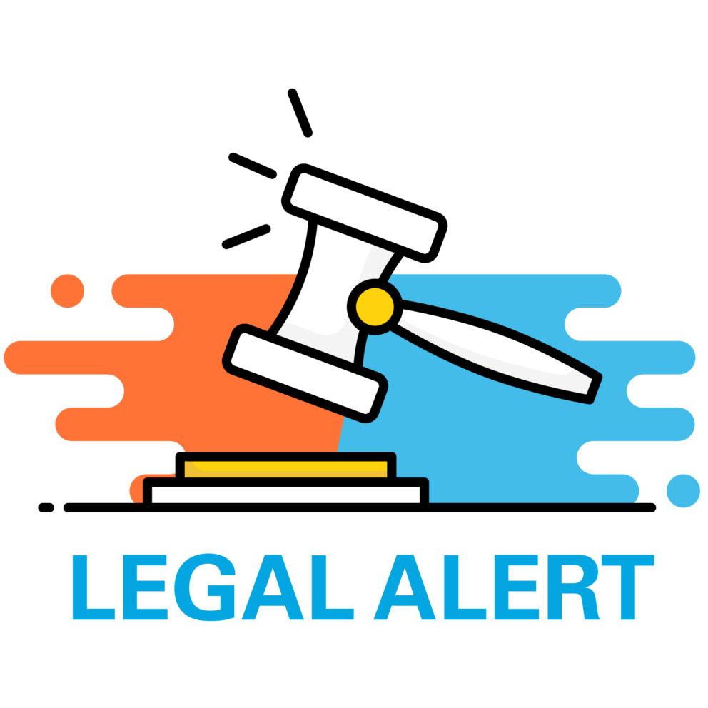 Legal alert gavel